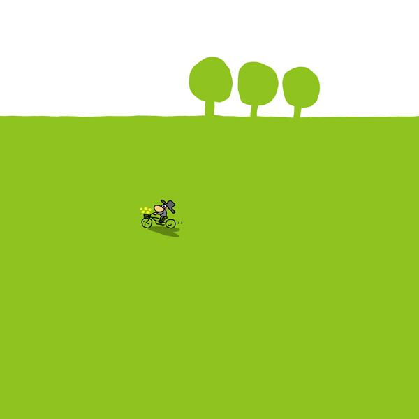 自転車にのって2